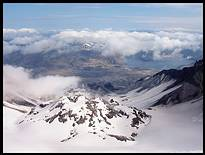 Climb of Mount St. Helens: lava dome