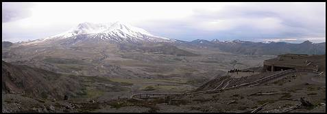 Mount St. Helens: at the Johnston Ridge Observatory
