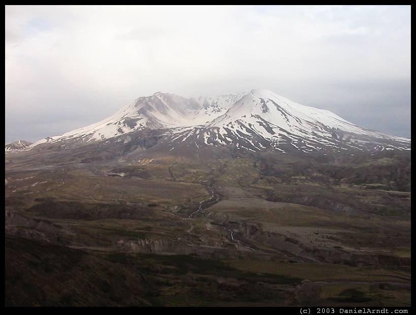 Mount St. Helens: seen from Johnston Ridge Observatory