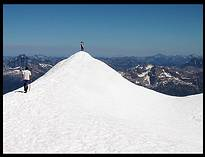 Glacier Peak climb: on the summit