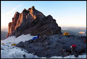 Climb of Mount Rainier: Steamboat Prow and Camp Schurman