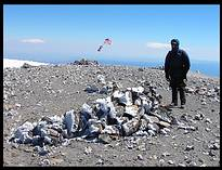 Mount Adams climb: Jim on the summit