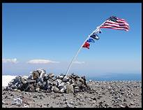 Mount Adams climb: summit
