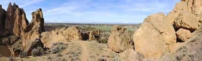 Climbing at Smith Rock