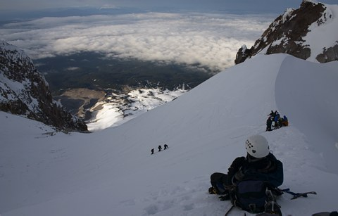 Mount Hood climb: on the Hogsback