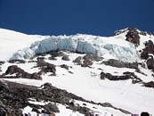 Mount Rainier climb: Kautz ice cliff