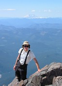 Mount Rainier climb: Gary and Mount St Helens