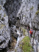 H&amp;#246;llental: in the H&amp;#246;llentalklamm gorge