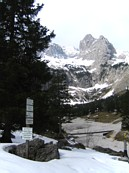 H&amp;#246;llental: near the H&amp;#246;llentalangerh&amp;#252;tte, which was still closed