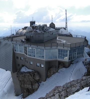 Zugspitze site - photo by D. Arndt