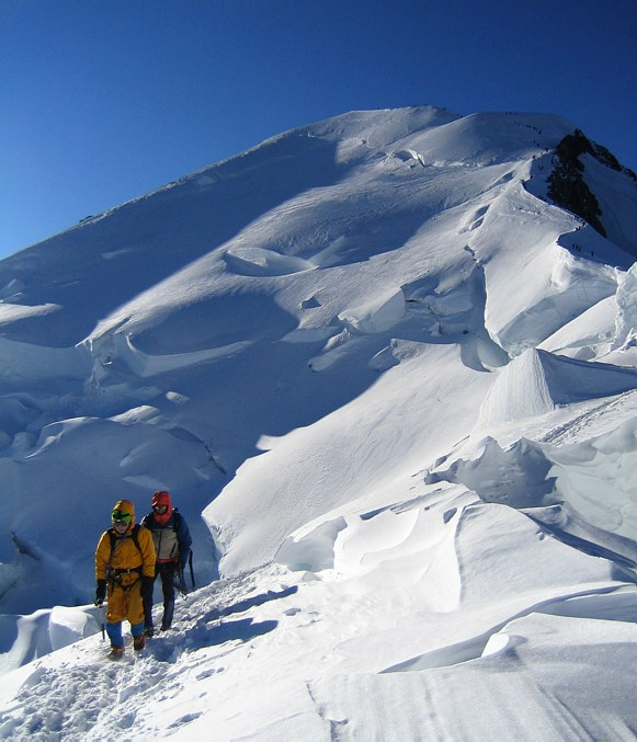Mont Blanc: Bosses Ridge and Mont Blanc