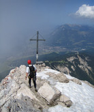 Alpspitze via KG-Weg: on the summit