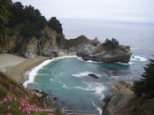 Julia Pfeiffer Burns State Park: waterfall